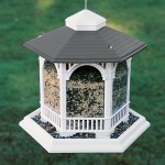 Deluxe Gazebo Bird Feeder