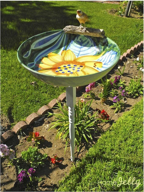 DIY Bird Bath Bowl