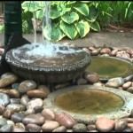 DIY Bird Bath Fountain