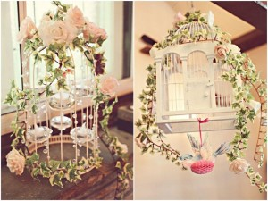 DIY Bird Cage Decoration