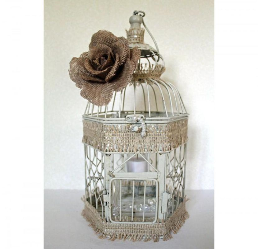 DIY Bird Cage Lanterns
