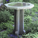 DIY Concrete Bird Bath