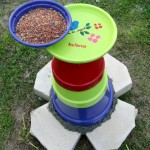 DIY Flower Pot Bird Bath