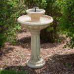 DIY Fountain Bird Bath