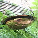 DIY Hanging Bird Bath