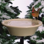 DIY Heated Bird Bath