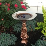 DIY Solar Bird Bath Fountain