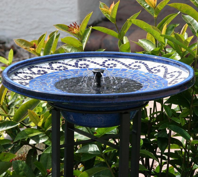 DIY Solar Bird Bath