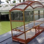 DIY Wood Bird Cage
