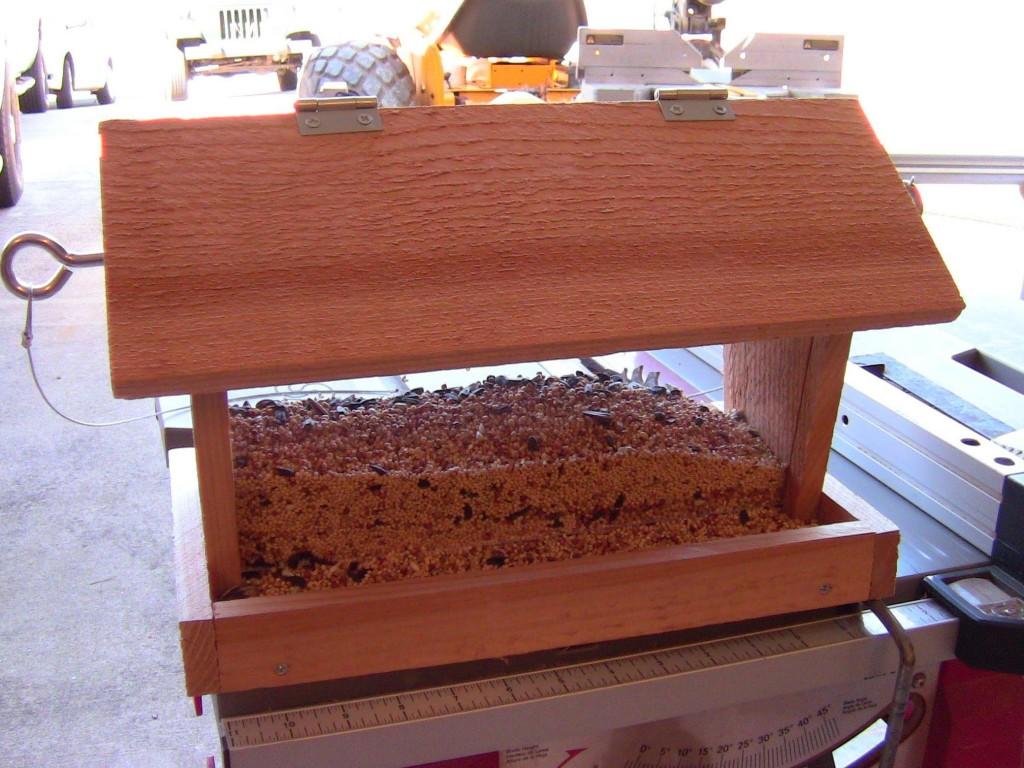 DIY Wooden Bird Feeders