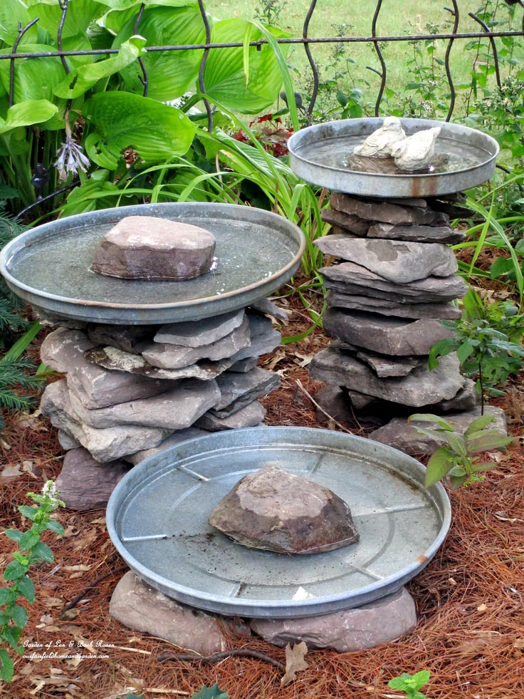 Do it Yourself Concrete Bird Bath