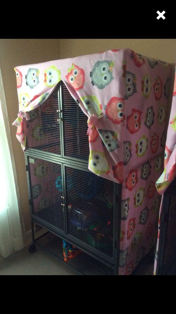 Easy to Make Bird Cage Cover Pattern