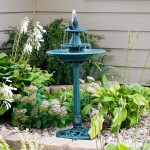 Garden Bird Bath Fountains
