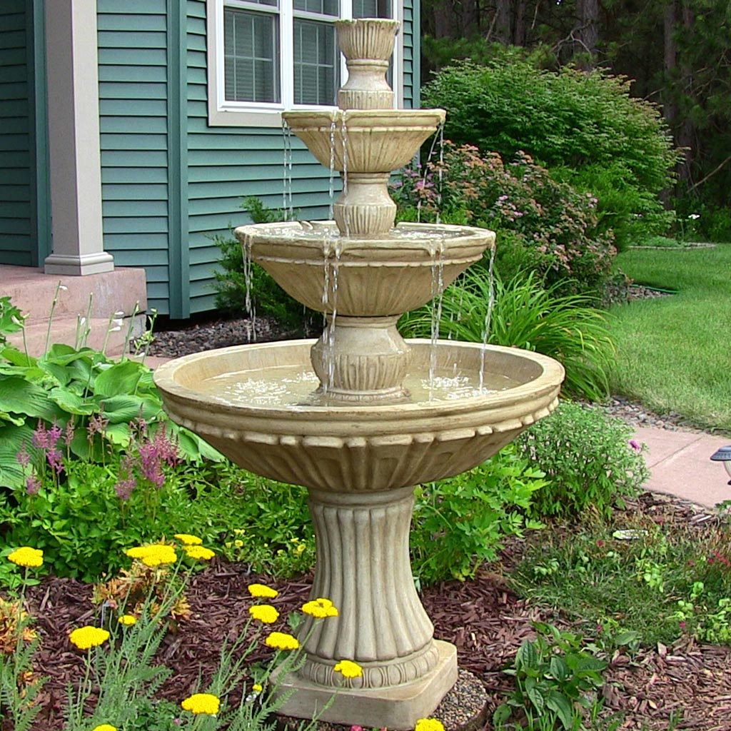 Garden Bird Baths Fountains
