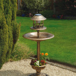 Garden Bird Water Feeder