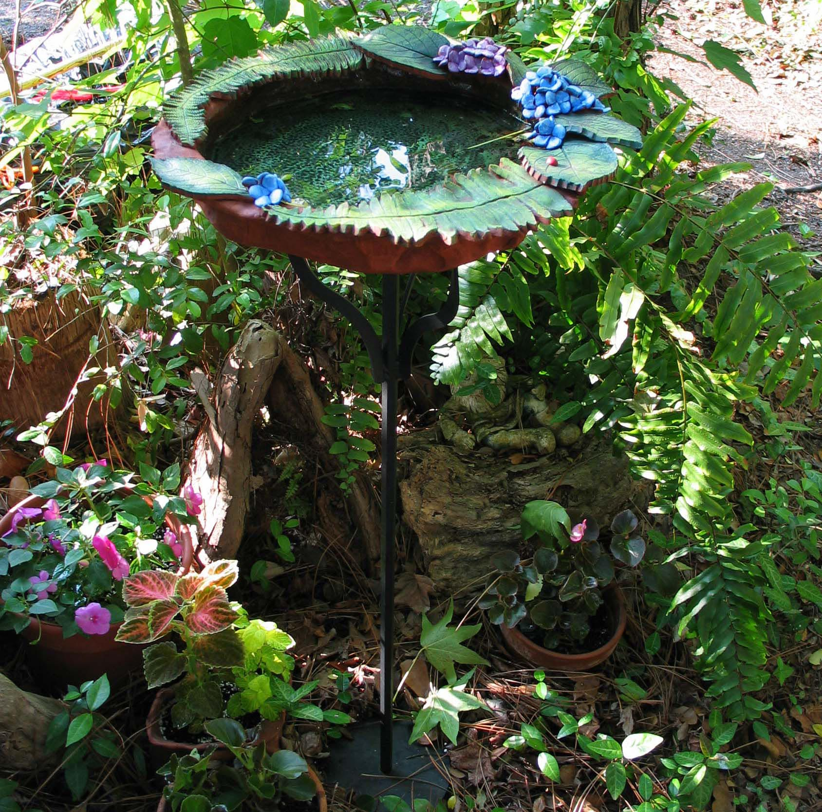Garden Gnome Bird Bath