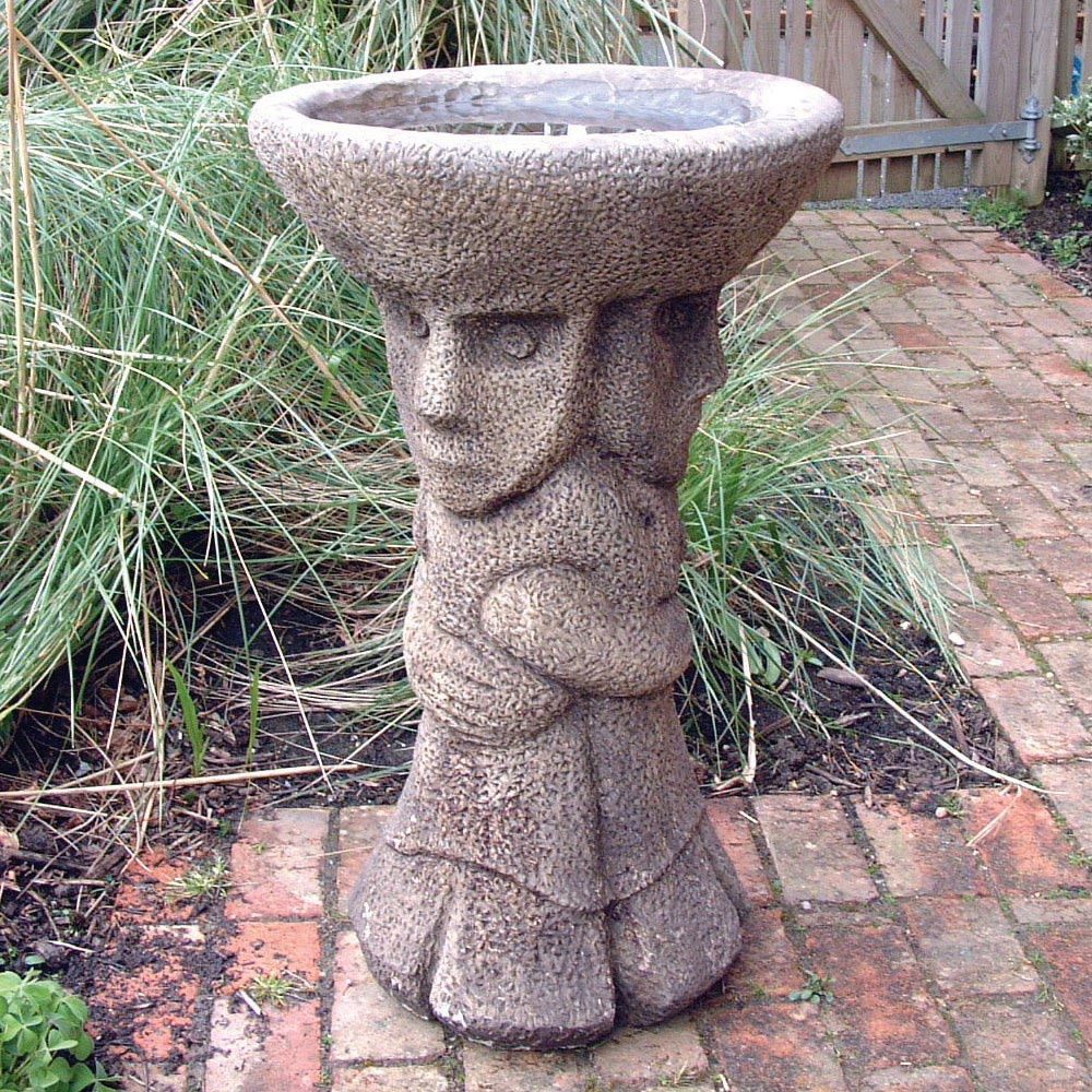 Garden Stone Ornaments Bird Baths