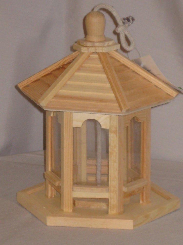 Gazebo Bird Feeder Plans