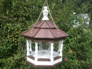 Gazebo Style Bird Feeders