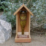 Handmade Glass Bird Feeders