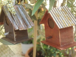 Handmade Wooden Bird Cages