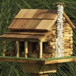 Handmade Wooden Bird Feeders