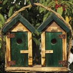 Handmade Wooden Bird Houses
