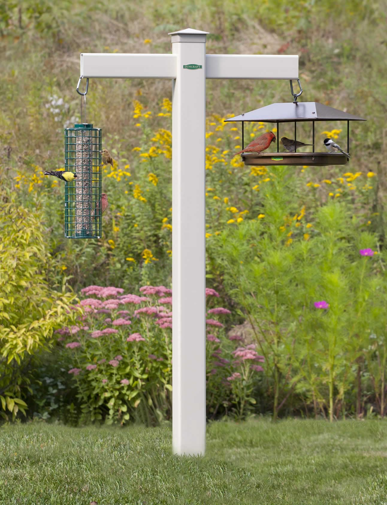 Hang Bird Feeder from Deck
