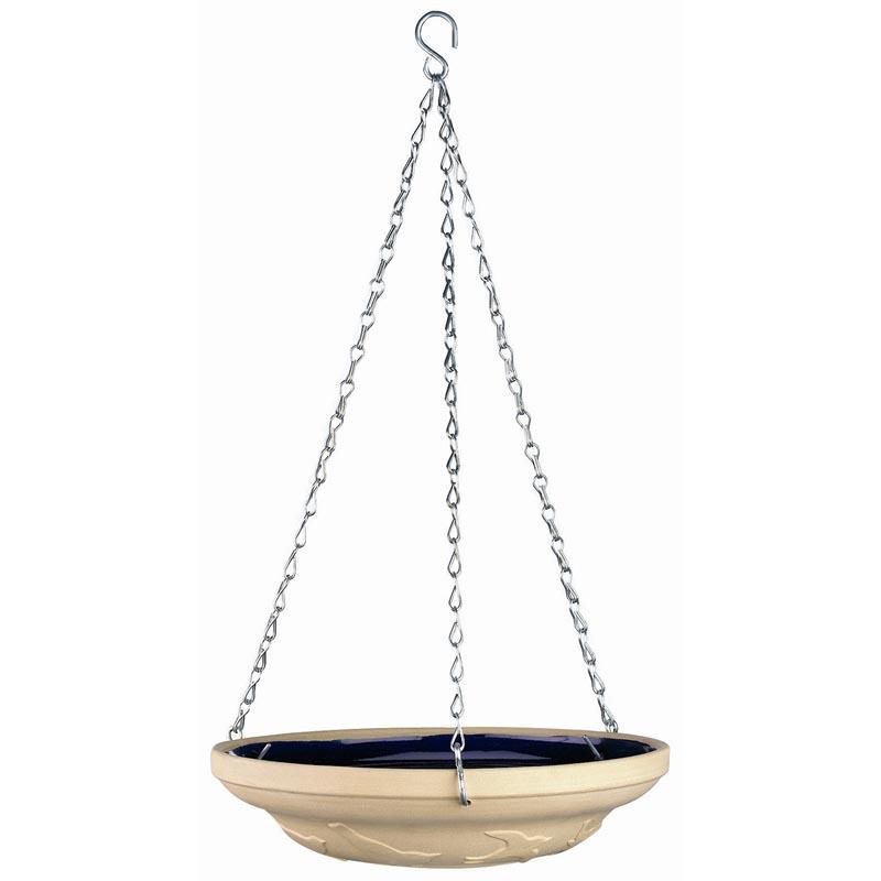 Hanging Ceramic Bird Bath