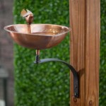 Hanging Copper Bird Bath
