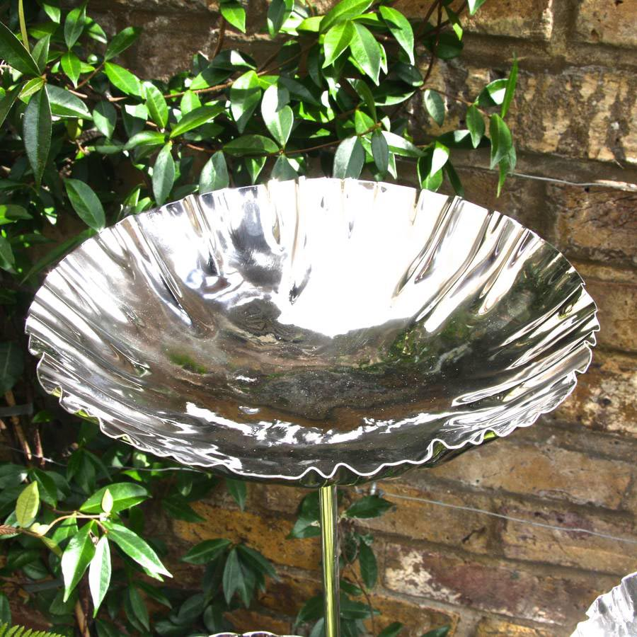Hanging Metal Bird Bath