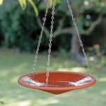 Hanging Solar Bird Bath