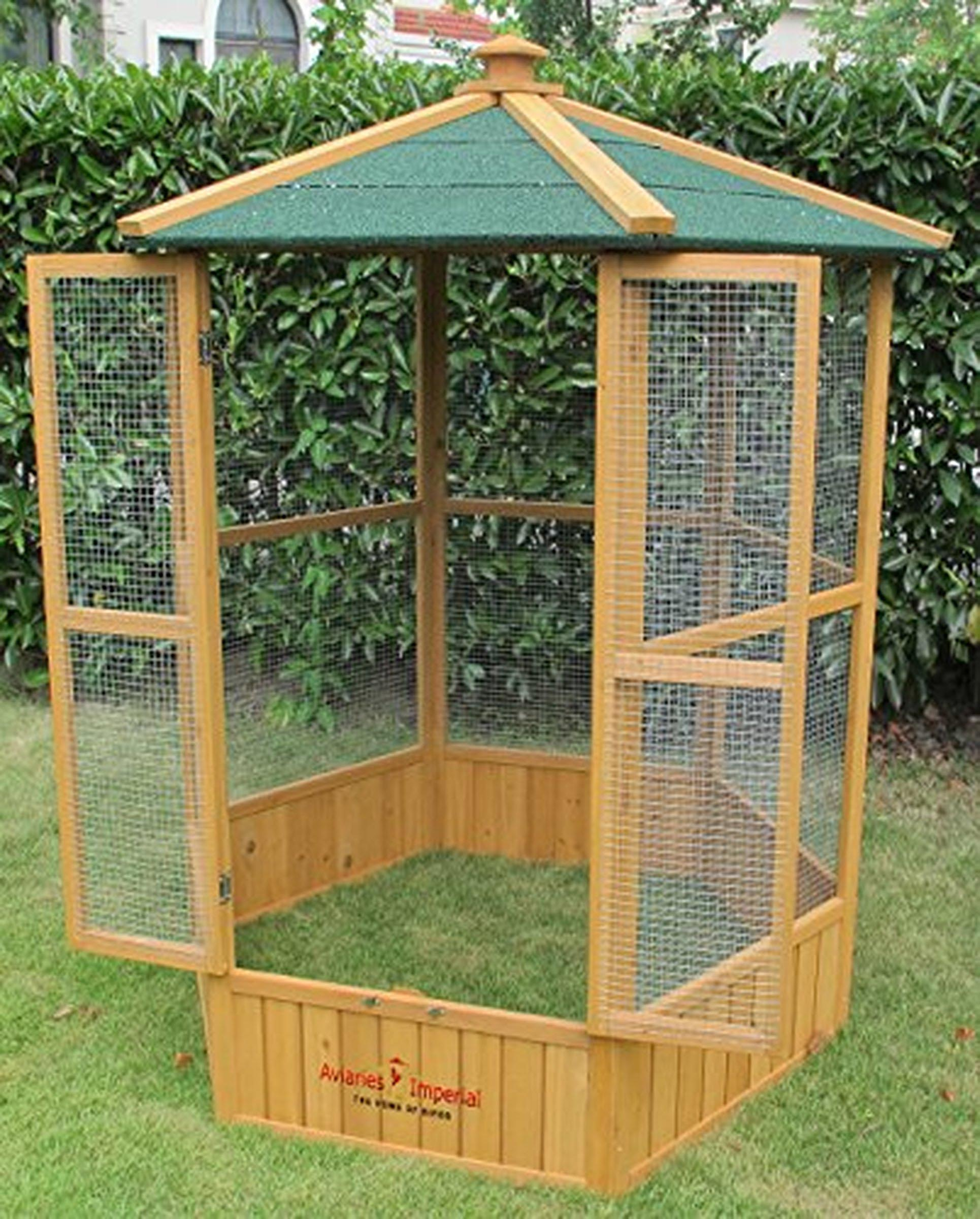 Hexagonal Aviary Bird Cage