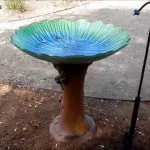 Homemade Bird Bath Cleaner