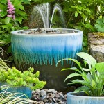 Homemade Bird Bath Fountain