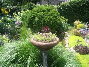Homemade Bird Baths Ideas