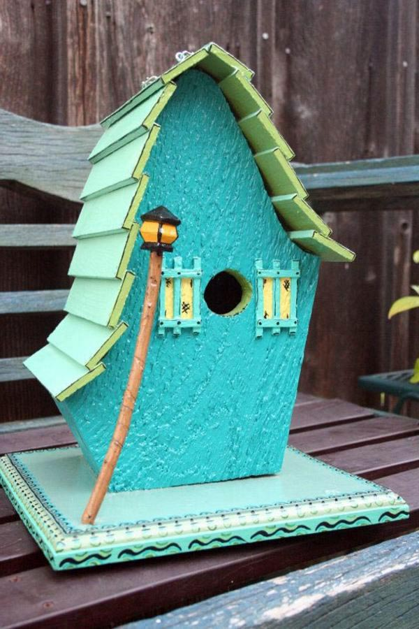 Homemade Bird Houses DIY