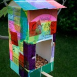 Homemade Bird Houses for Kids