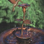 Hummingbird Mister Bird Baths