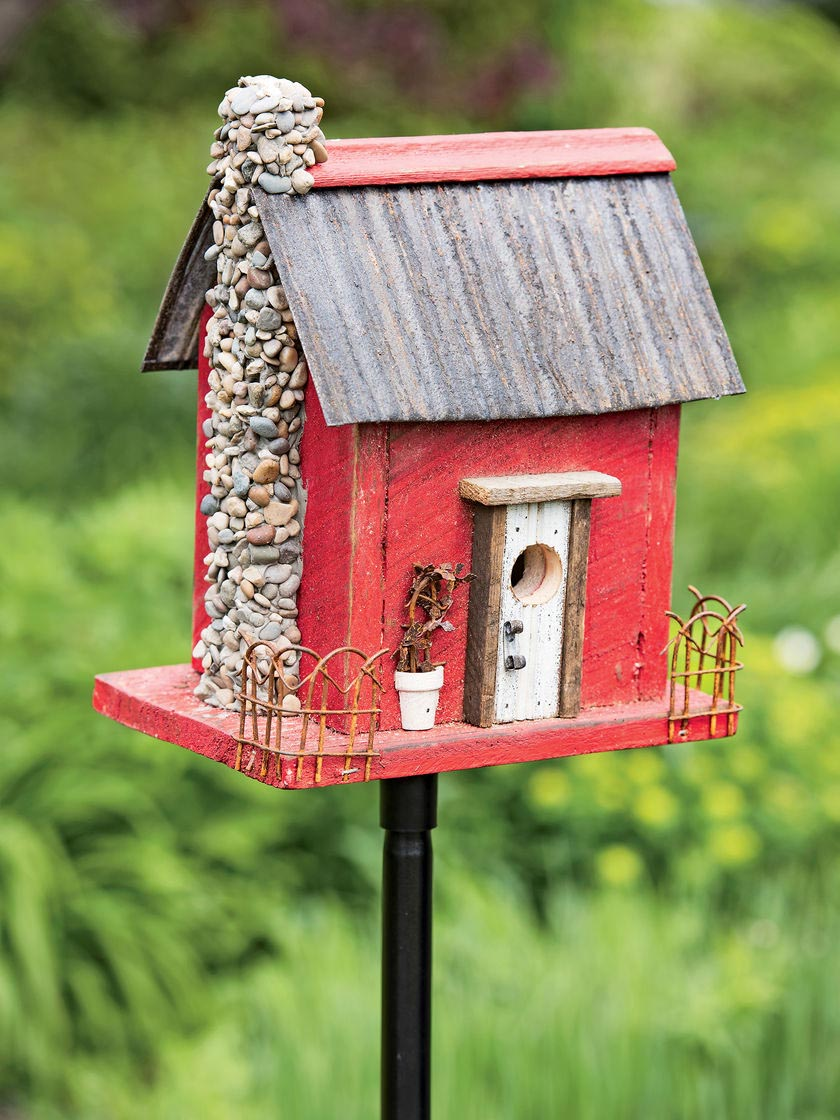 Images of Wooden Bird Houses