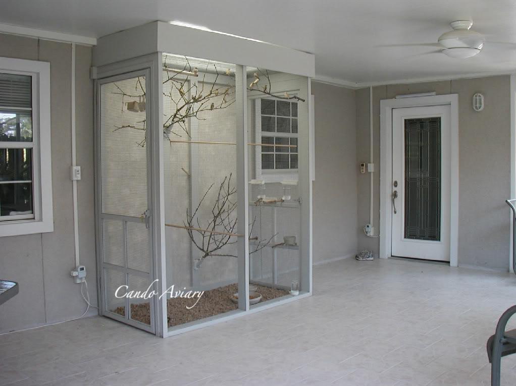 Indoor Bird Aviary Plans Birdcage Design Ideas