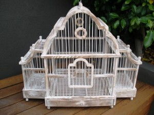 Large Antique Bird Cages