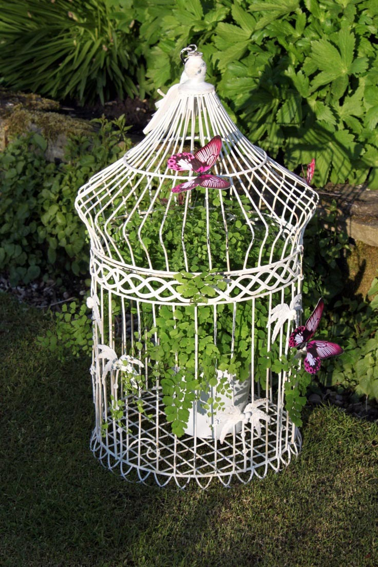 Large Bird Cage Decor