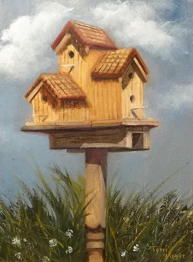 Large Bird House Plans
