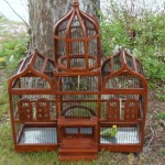 Large Custom Wooden Bird Cages