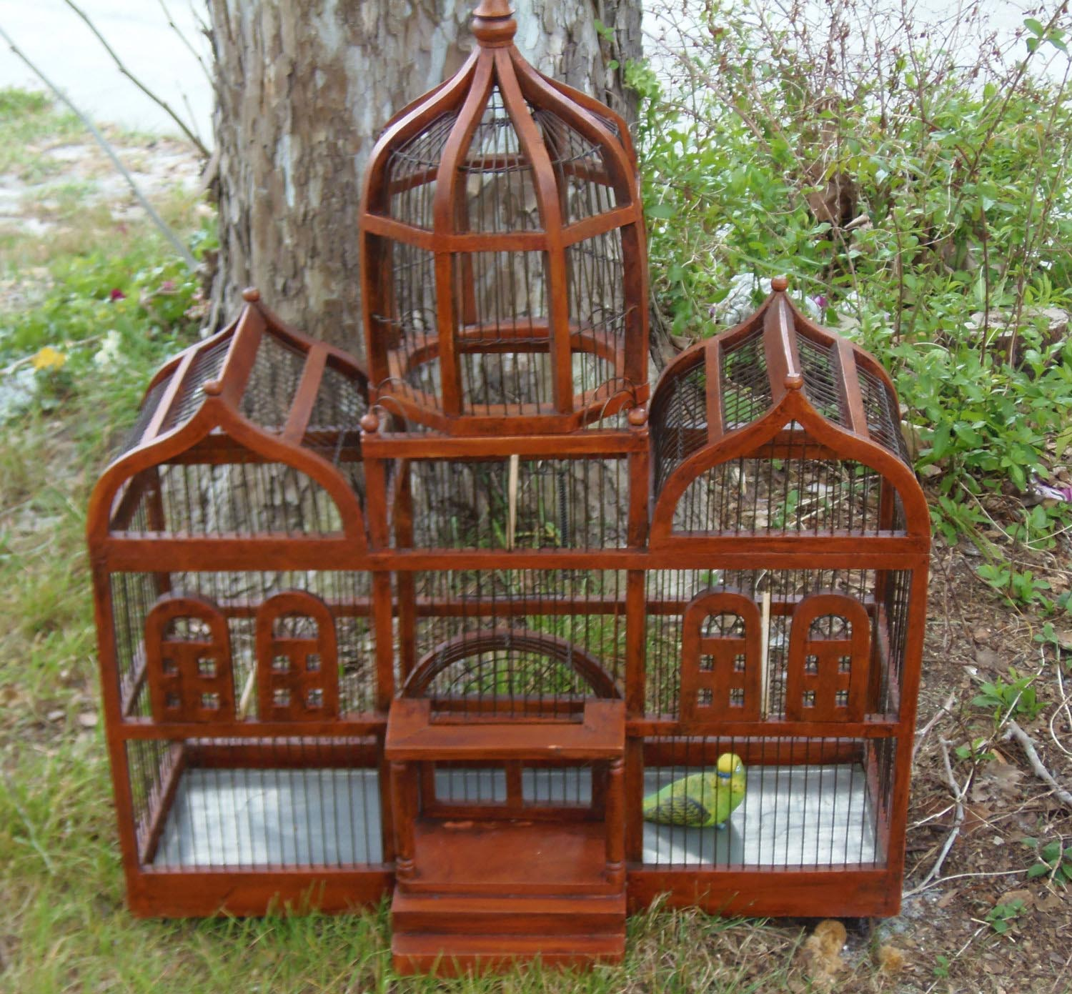 Large Custom Wooden Bird Cages | Birdcage Design Ideas