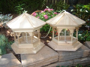 Large Gazebo Bird Feeders