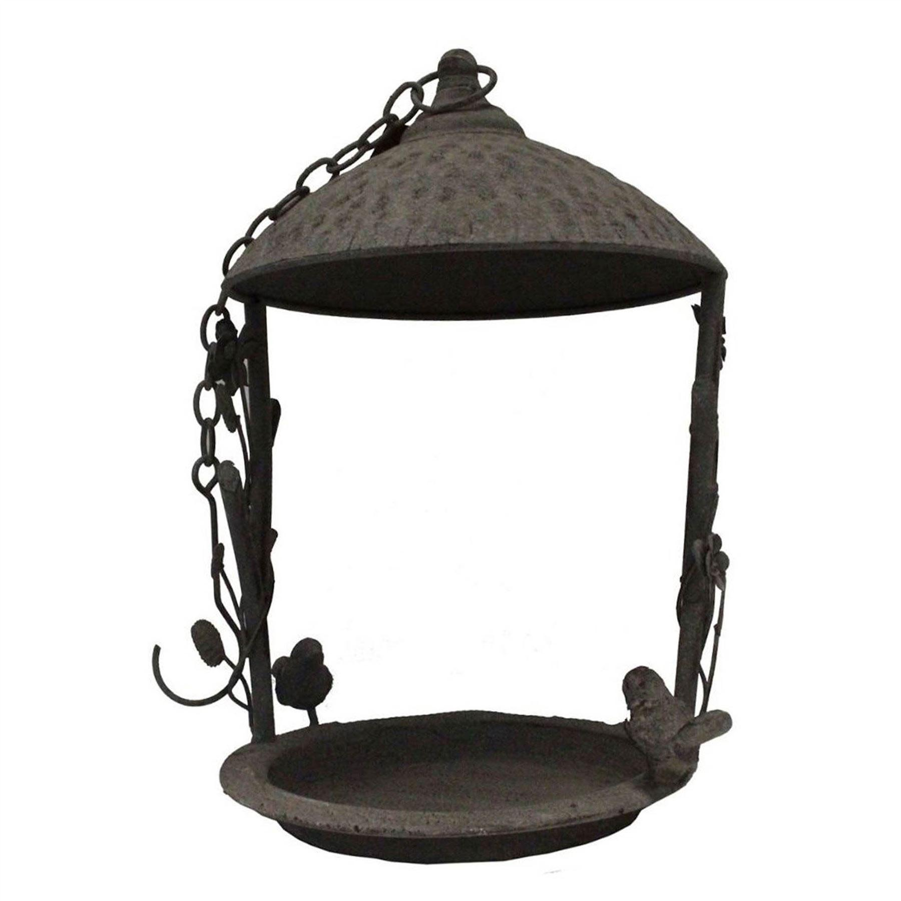 Large Metal Bird Feeder