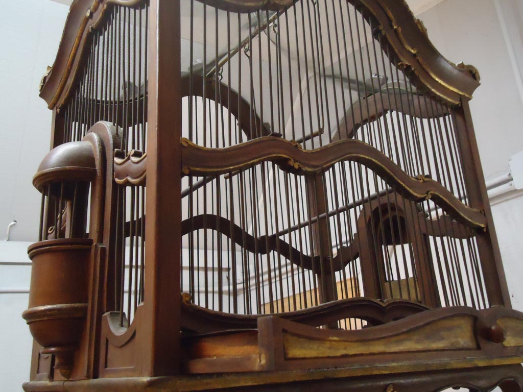 Large Victorian Bird Cage