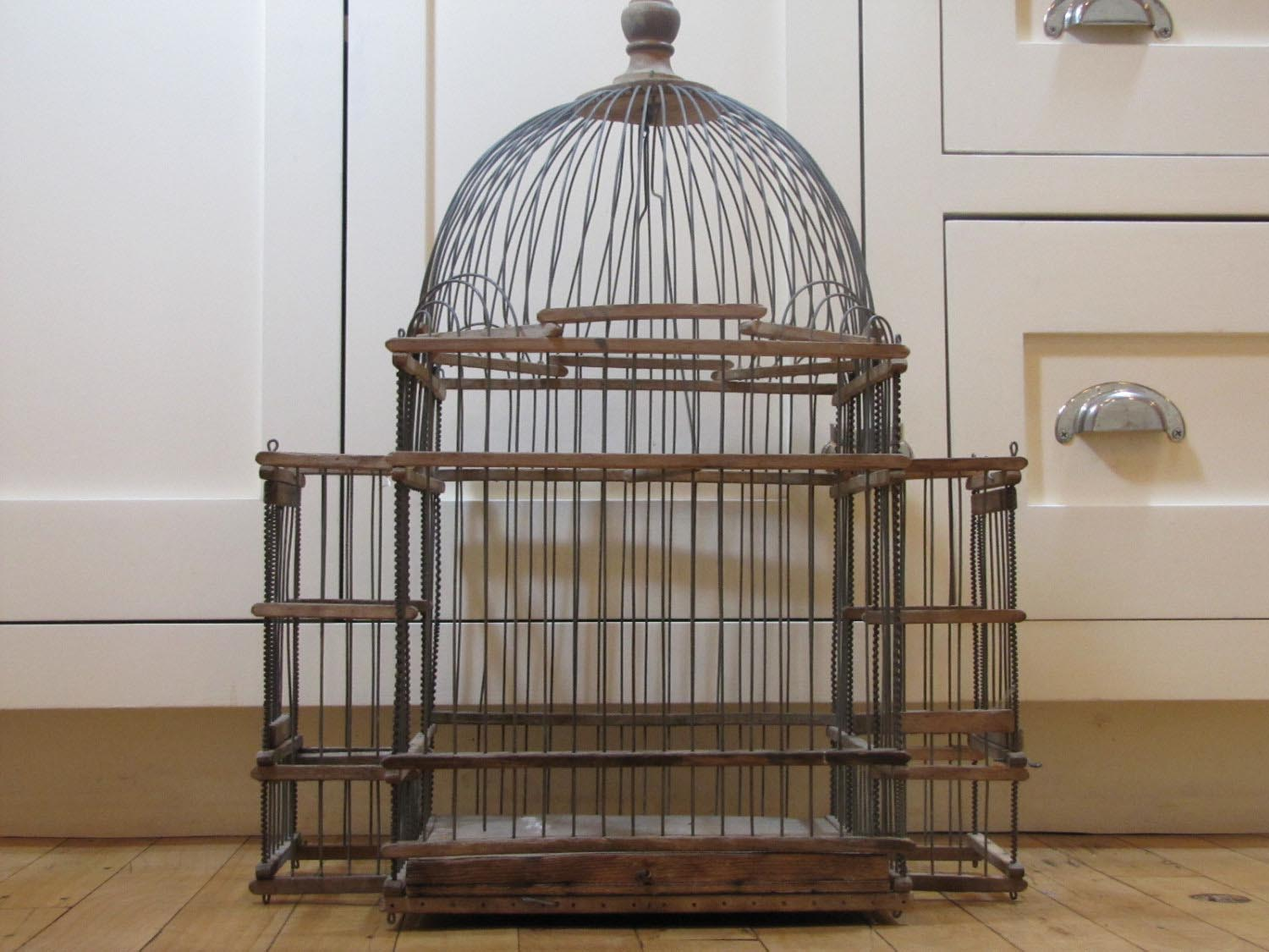 Large Victorian Bird Cages